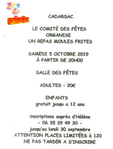 moules frites 2019