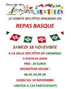 repas basque 2019